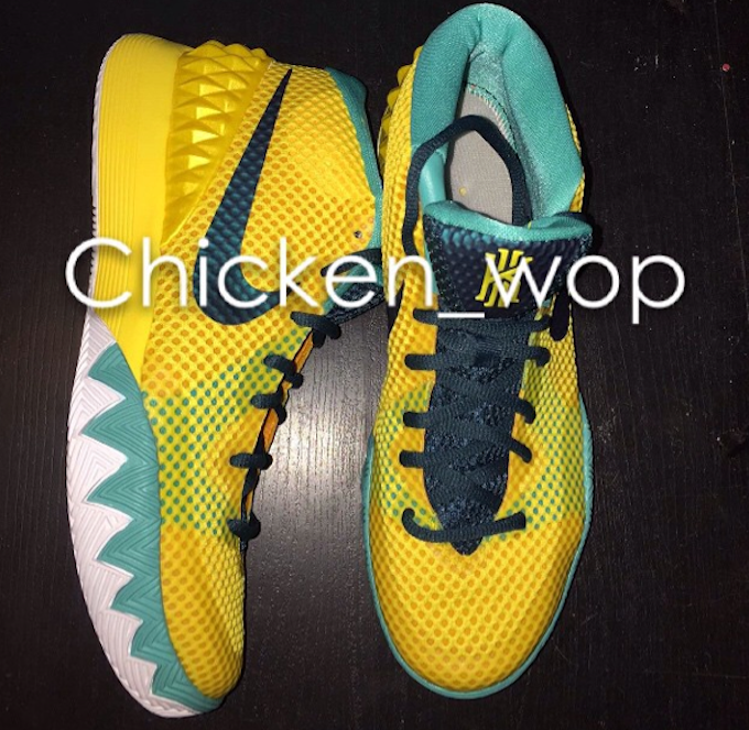 Nike Kyrie 1 Tour Yellow Teal