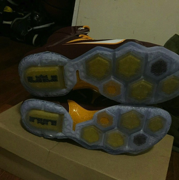new style 30f87 1293c Nike LeBron 12 Christ The King Away PE