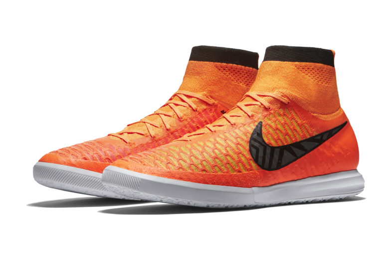 "The newest Nike MagistaX Proximo IC to release is dressed in a ""Total Orange""  ..."