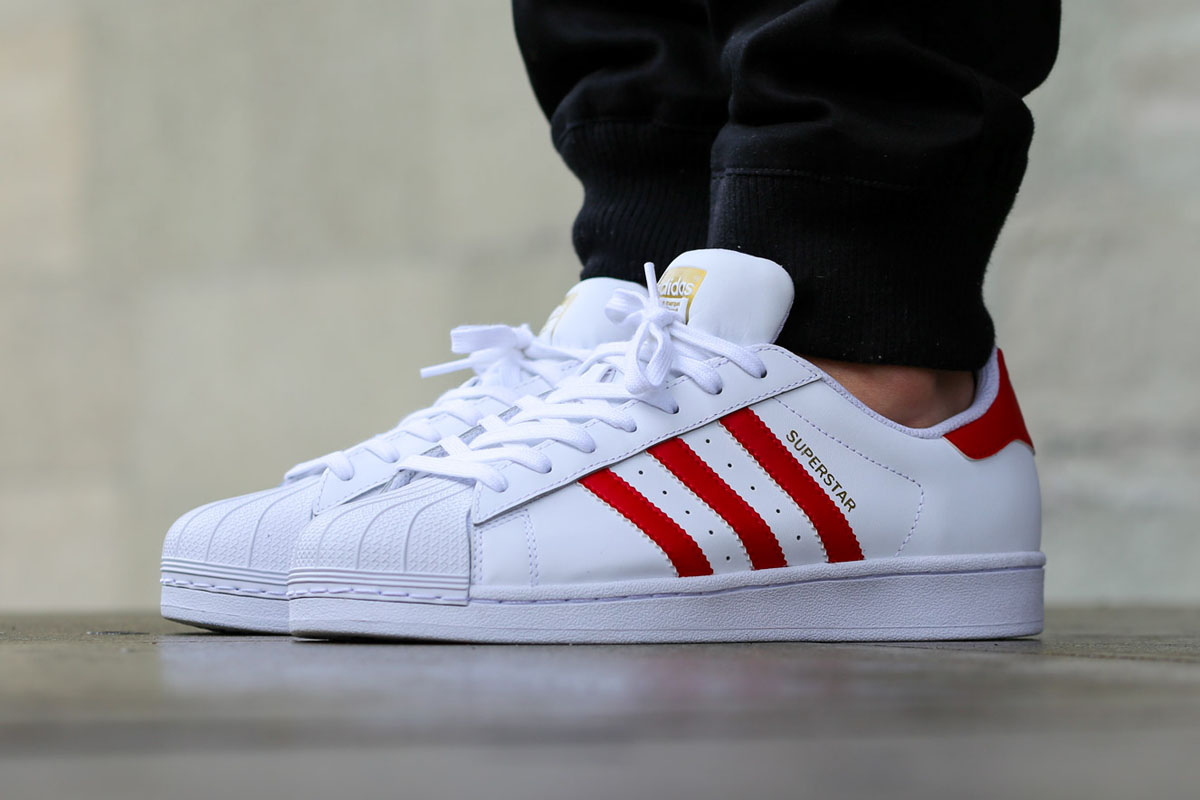 Cheap Adidas Superstar 80s Half Heart Shoes White Cheap Adidas Malaysia