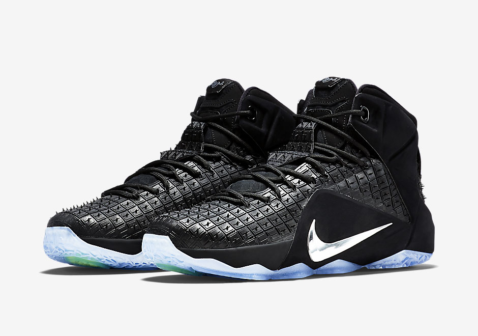 best cheap 4732d 23d19 Nike LeBron 12 Rubber City