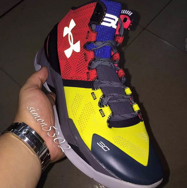 Under Armour Curry Two I Can Do All Things
