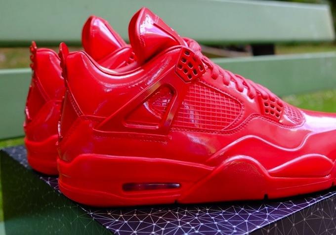 Air Jordan 11lab4 Red Sneaker Bar Detroit