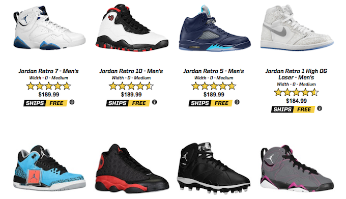 Air Jordan Restock Eastbay June 2015 - Sneaker Bar Detroit ba48cdd6d
