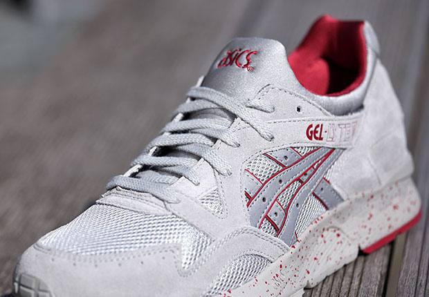 wholesale dealer b0089 98324 ASICS Gel Lyte V Light Grey Red - Sneaker Bar Detroit