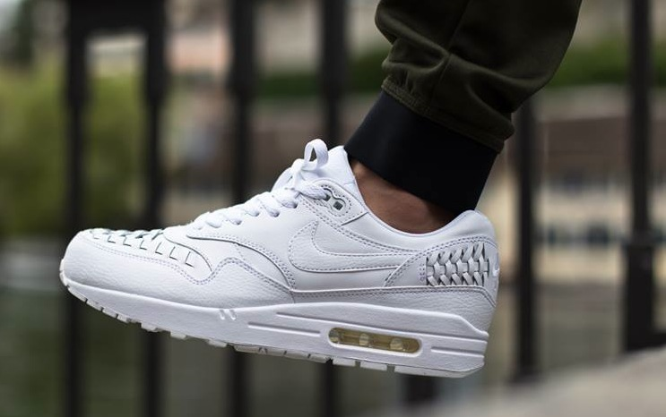 Popular Nike Air Max 1 Woven White/White
