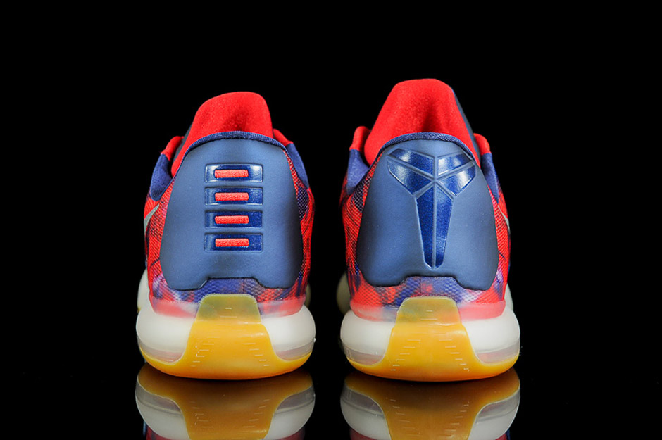 more photos d7cfc 5e724 Nike Kobe X 10 USA 4th of July Release Date June 27th