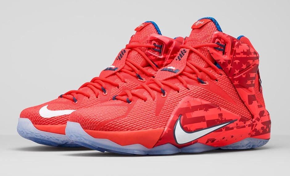 Nike LeBron 12 4th of July