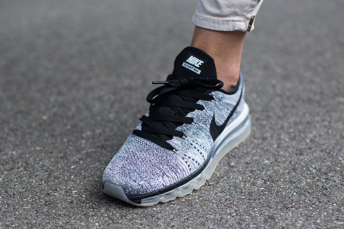 Nike WMNS Flyknit Air Max Cool Grey - Sneaker Bar Detroit