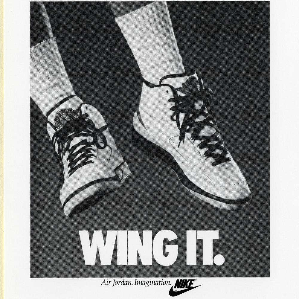 Wing It Air Jordan Poster