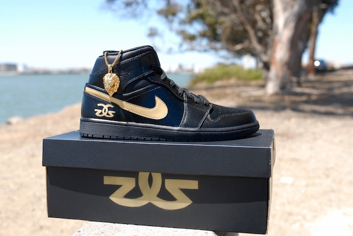 Air Jordan 1 The Gold Gods HareAir Customs