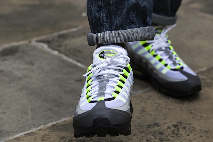 super popular 312c1 28d70 Neon Safari Nike Air Max 95