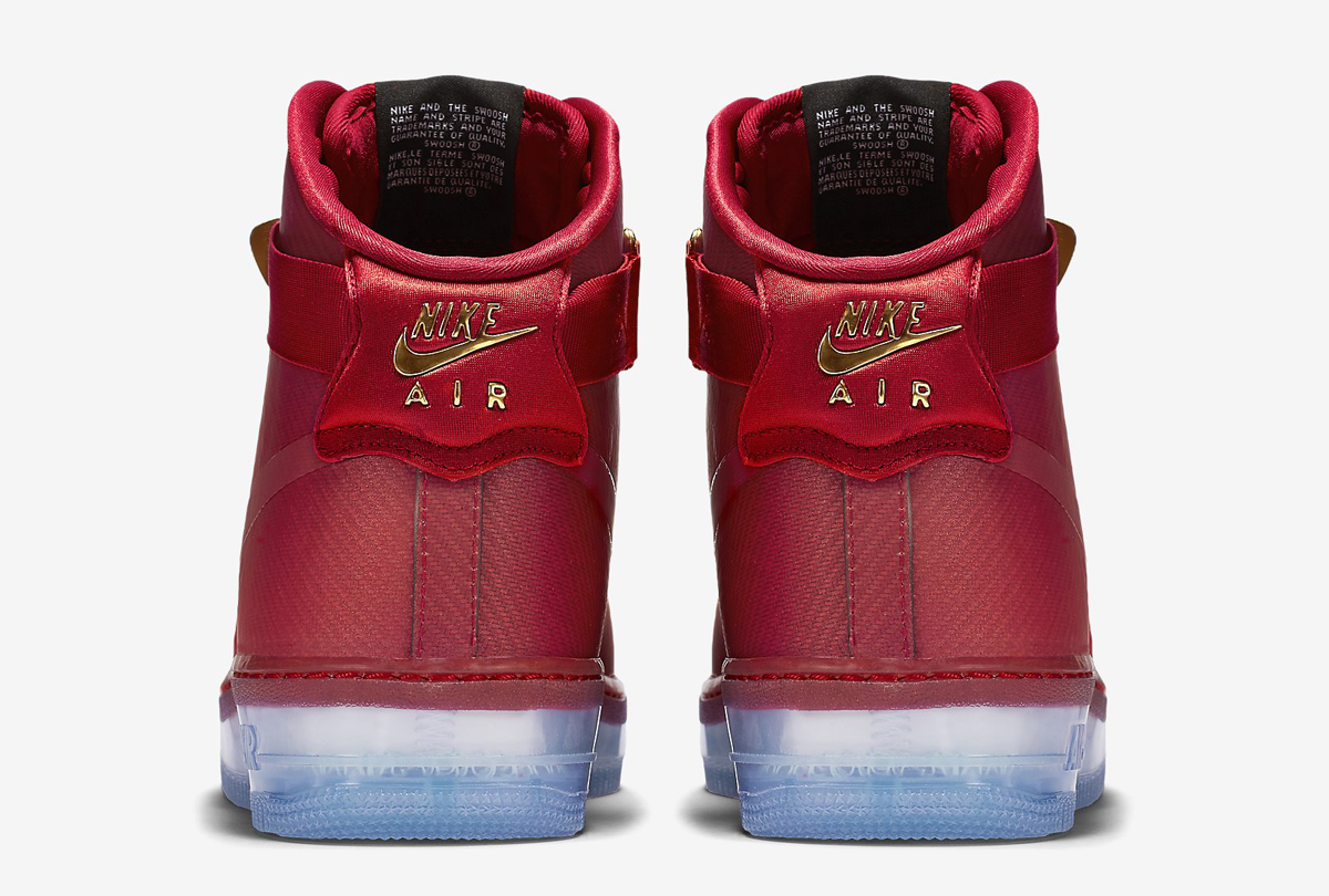 Nike Air Force 1 High Comfort Lux Red