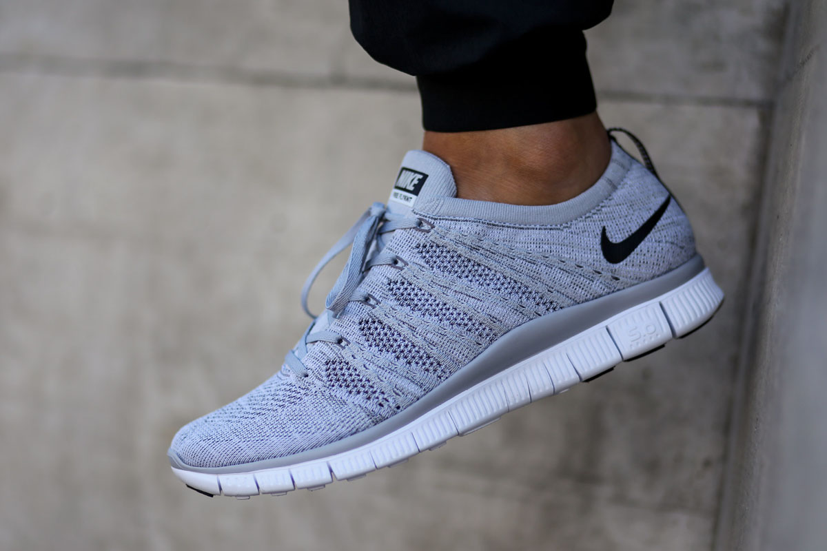 nike free flyknit nsw grey buy