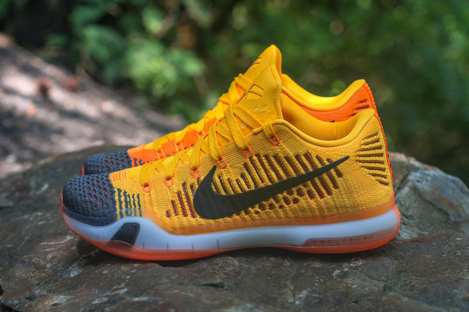 nike kobe 10 yellow green
