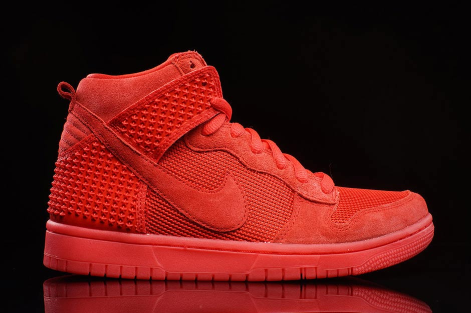 Nike Dunk High CMFT Premium QS Red October - Sneaker Bar Detroit 3638ece14