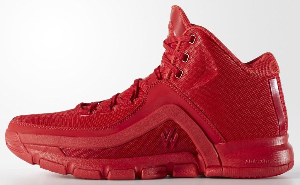 John Zapatos Rojos De Pared Adidas WlNnHYiFQ