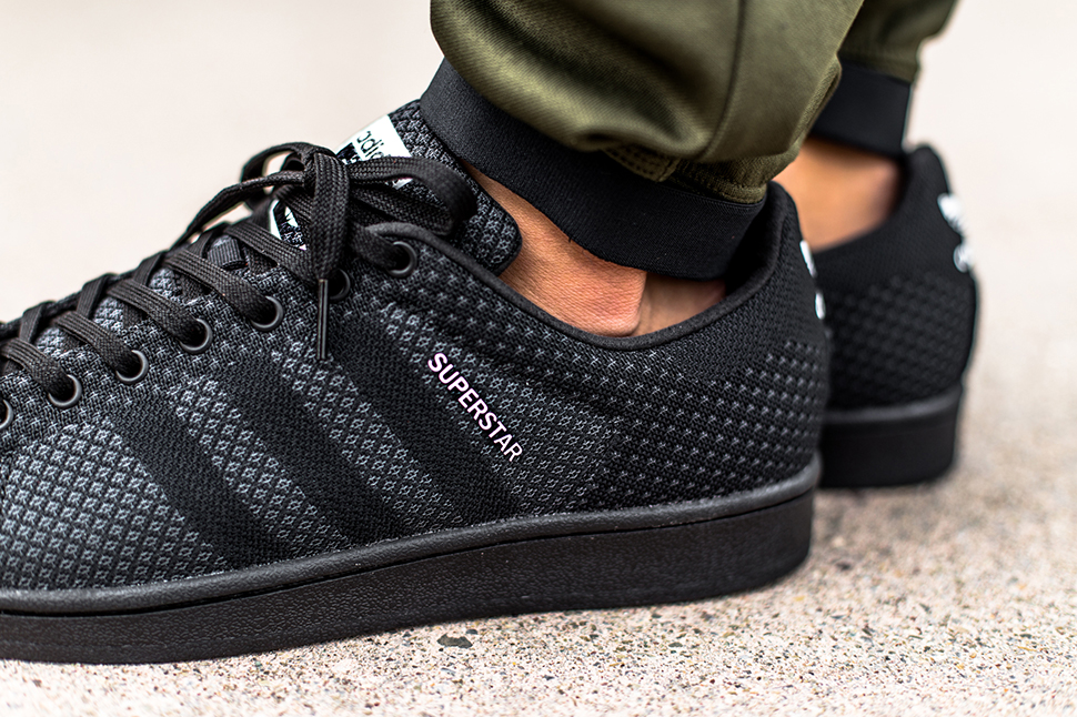 adidas superstar core black