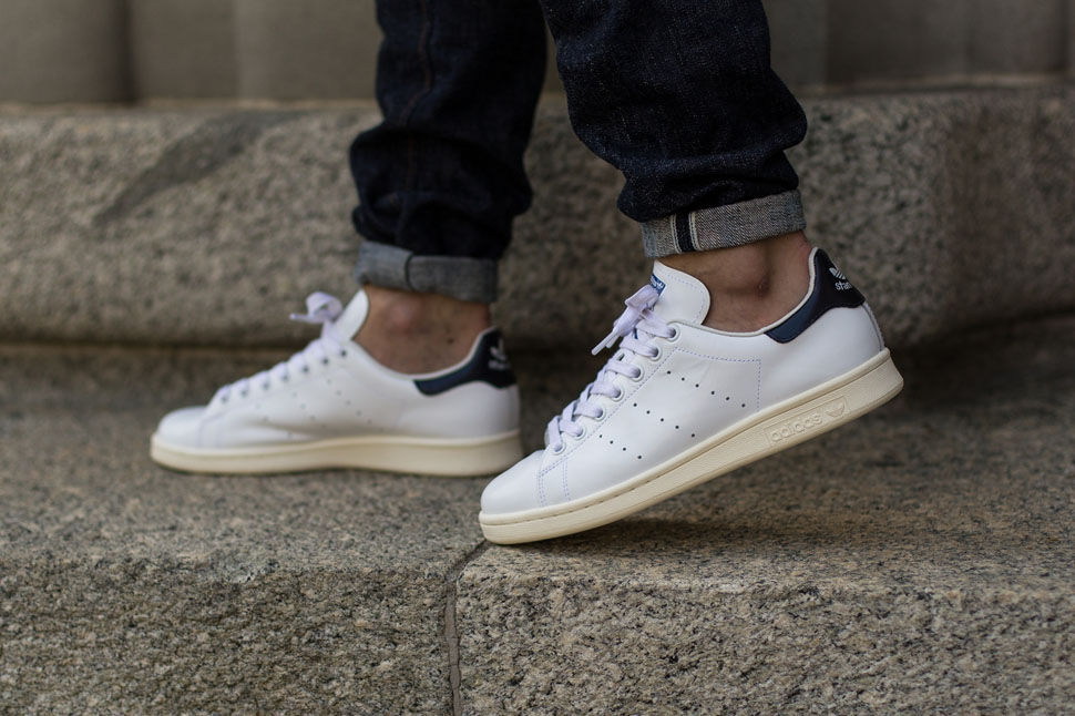 adidas Stan Smith White Collegiate Royal