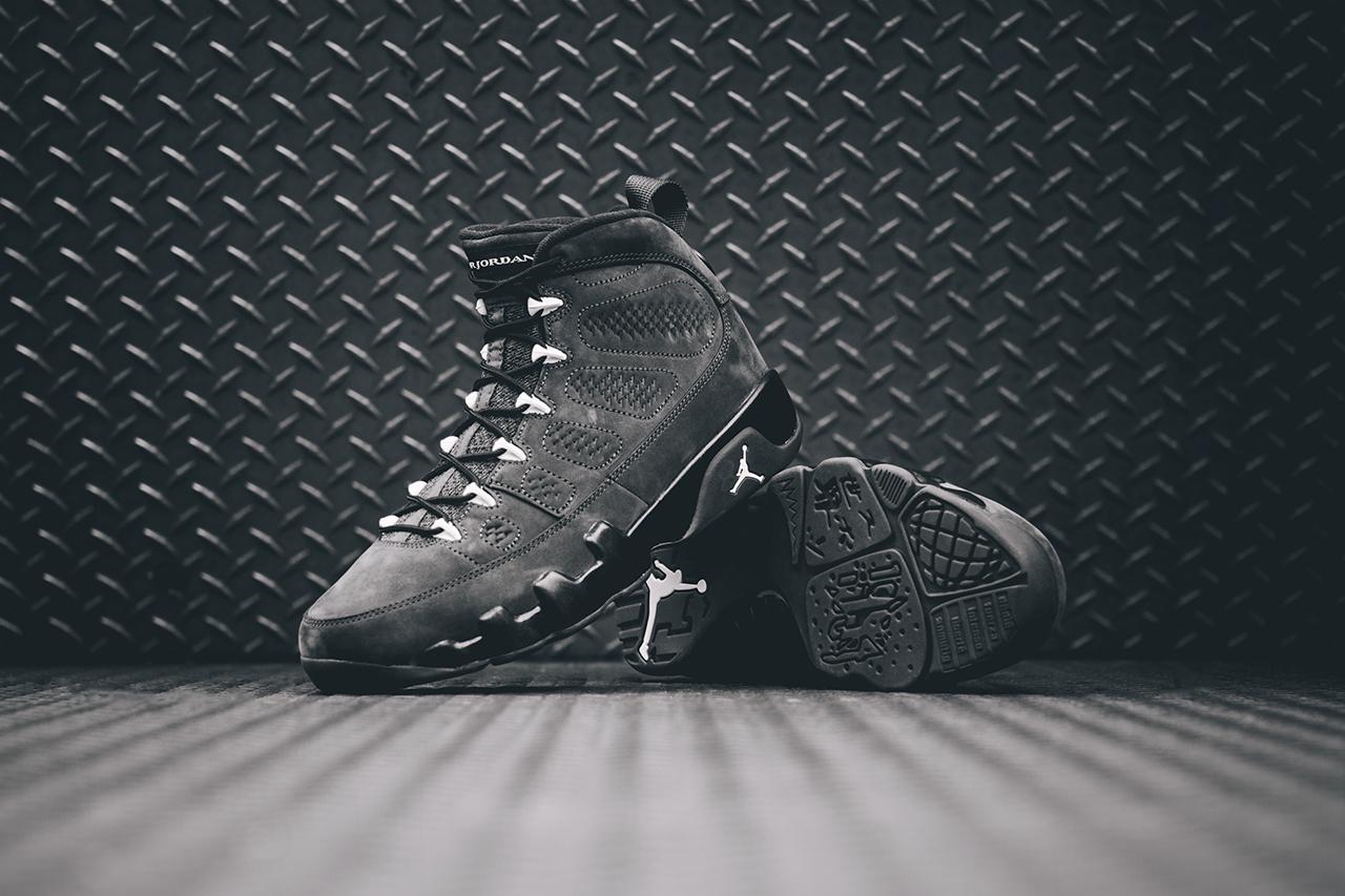 Air Jordan 9 Retro Anthracite Black White