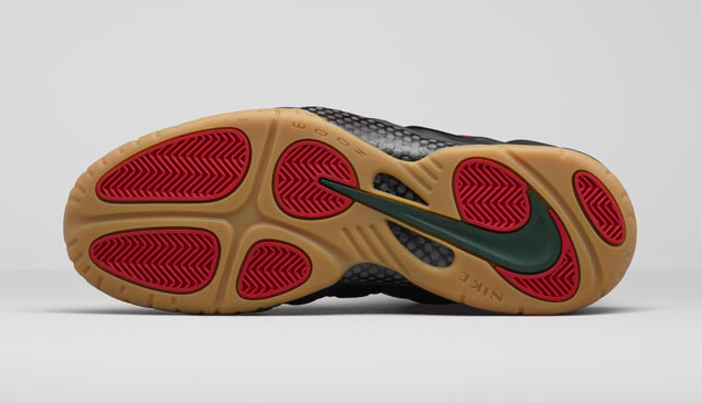 Gucci Nike Air Foamposite Pro George Green