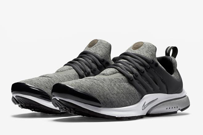 PRESTO TECH FLEECE GREY BLACK