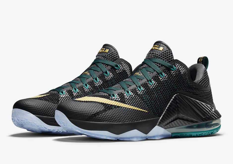 finest selection f1b4e 1e4d7 Nike LeBron 12 Low Carbon Fiber