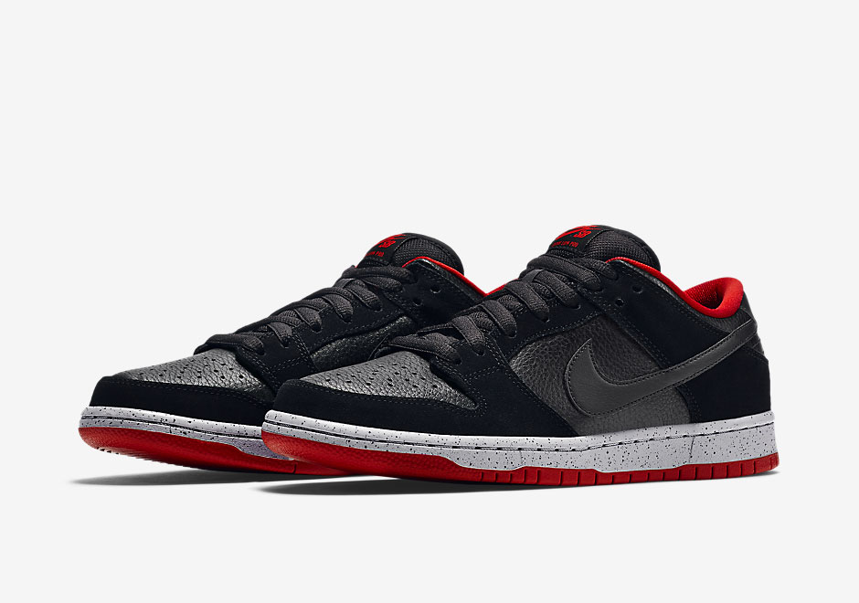 Nike SB Dunk Low Black Cement