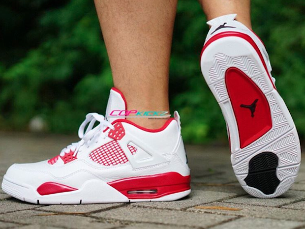 Jordan 4 Alternate 89 On Feet