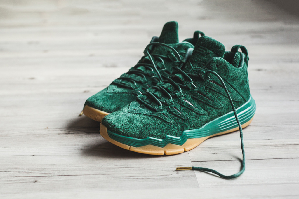 Jordan CP3 9 Friends Family Green Suede