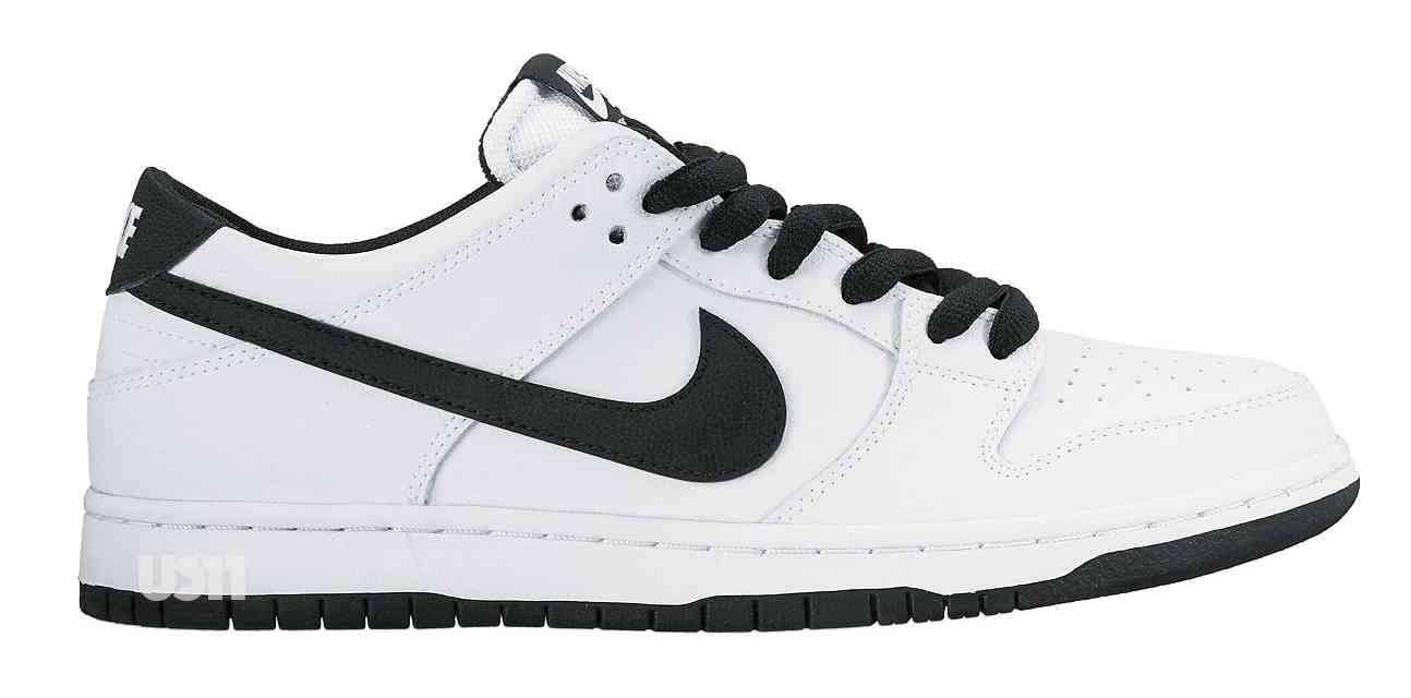 white nike dunks low