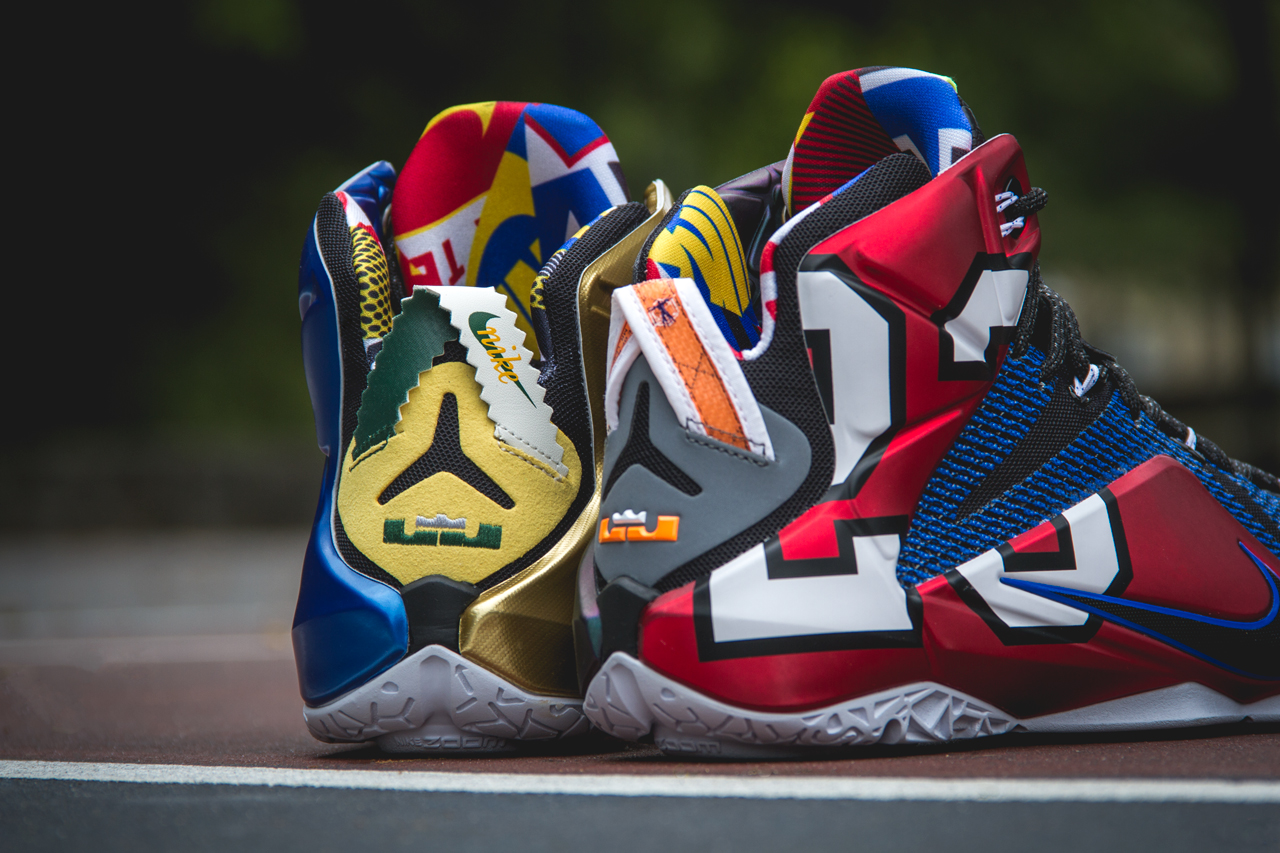 What The Nike LeBron 12 SE