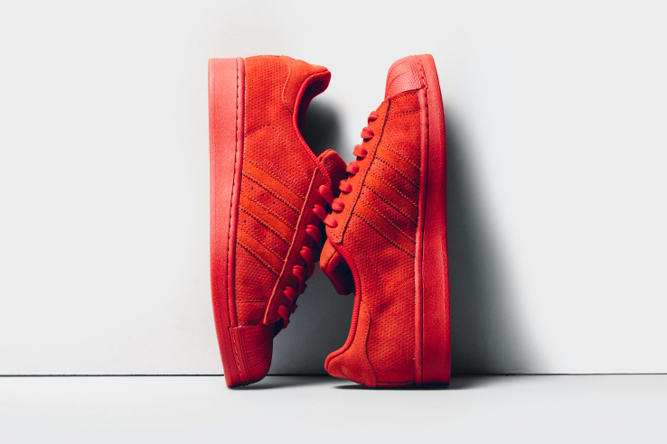 premium selection 79e88 d8a8d adidas Superstar RT Red Suede