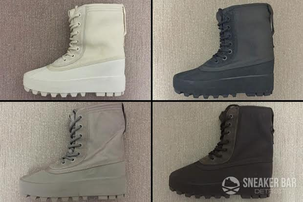 e4958960037c7 adidas Yeezy 950 Boot Colorways - Sneaker Bar Detroit