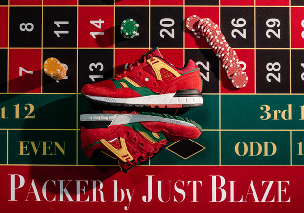 Just Blaze Packer Shoes Saucony Grid SD Casino