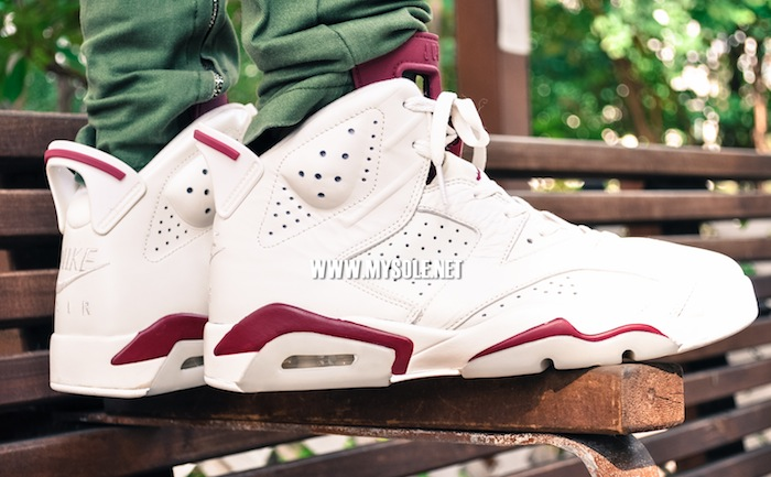low price sale outlet on sale exquisite style Nike Air Jordan 6 Maroon 2015 - Sneaker Bar Detroit
