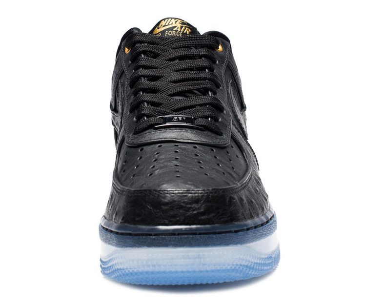 Nike Air Force 1 Low Black Ostrich