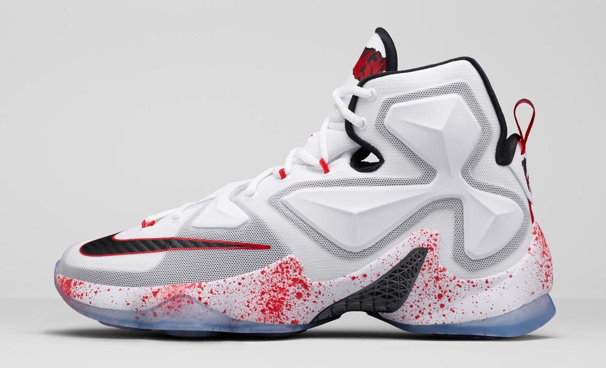 Nike LeBron 13 Horror Flick Friday the 13th