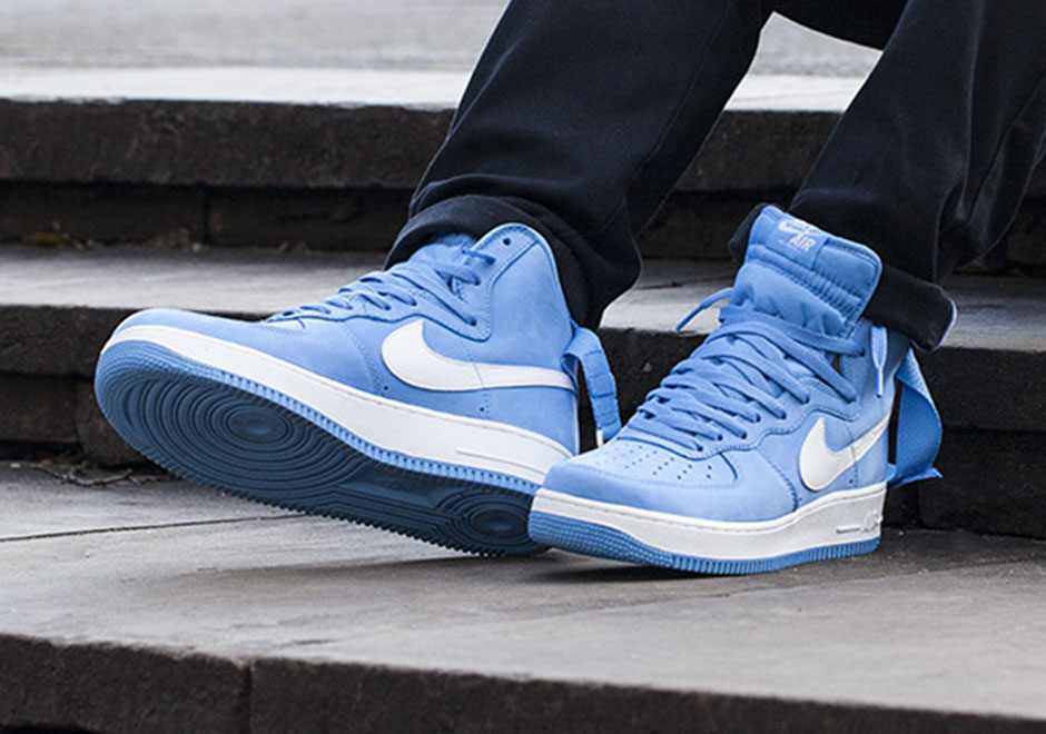 finest selection 7db6e d8057 Nike Air Force 1 High OG Baby Blue Release Date - Sneaker ...