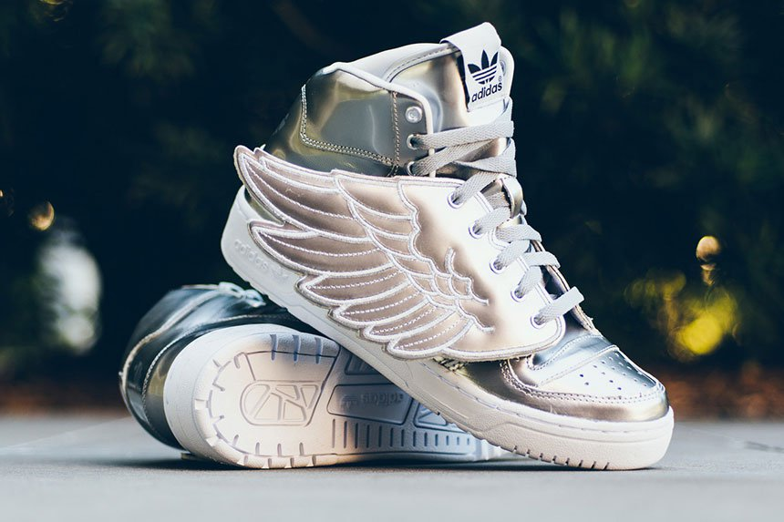 adidas Jeremy Scott Wings Metallic Silver