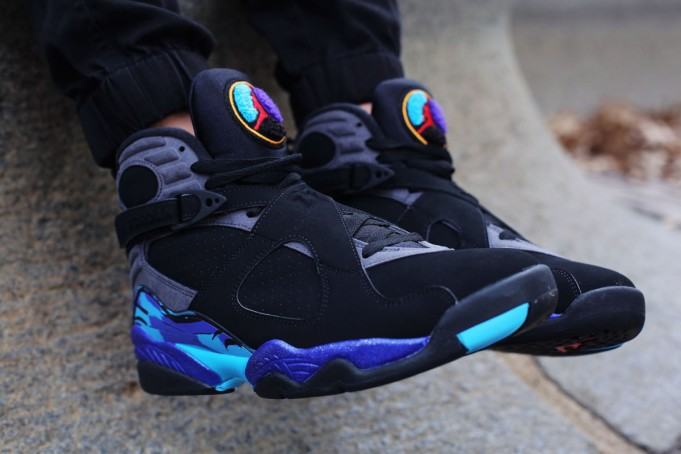 Black Friday Air Jordan 8 Aqua 2015