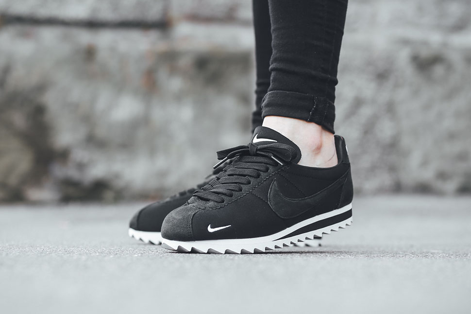 Nike Cortez Shark Black White , Sneaker Bar Detroit