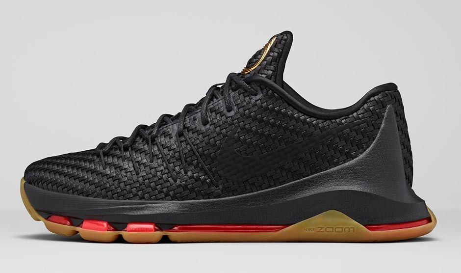 60e2f5aad3f Nike KD 8 EXT Black Gum Woven Wonder - Sneaker Bar Detroit