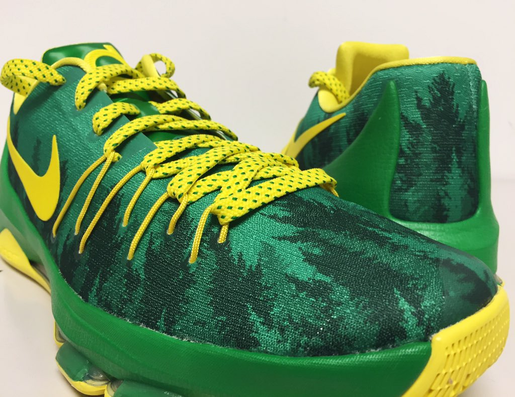 finest selection 01eda aacd2 nike-kd-8-oregon-ducks-green-trees