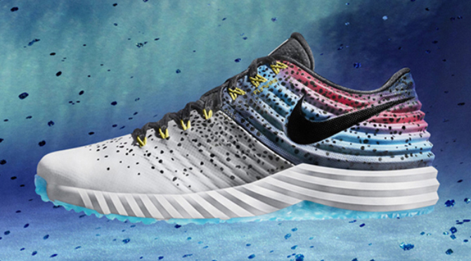 Nike Lunar Mike Trout 2 Rainbow Trout