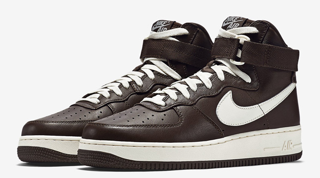 Nike Air Force 1 High Chocolate Brown Release Date
