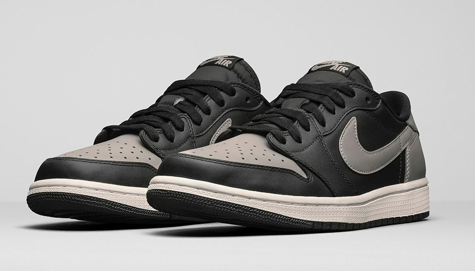Air Jordan 1 Retro Low OG Medium Grey Shadow