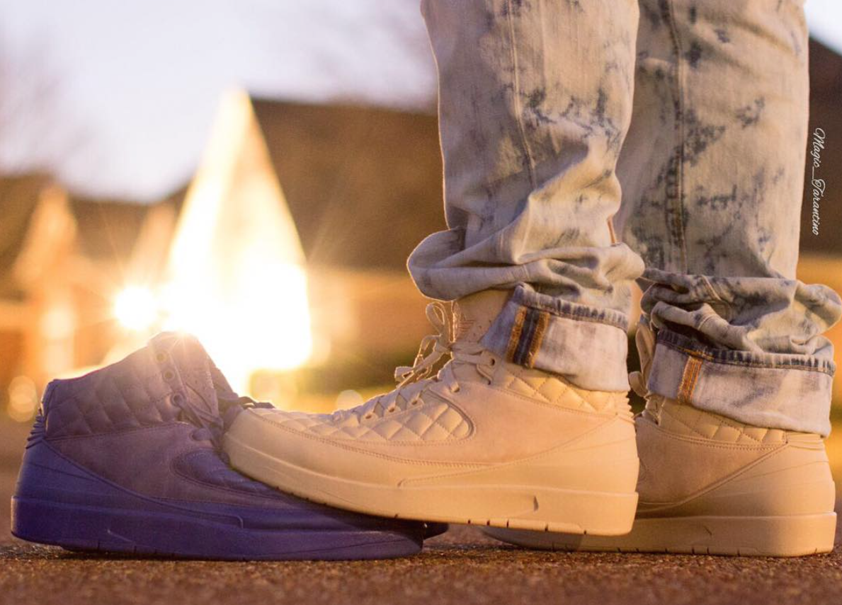 Air Jordan 2 Don C Beach On Feet