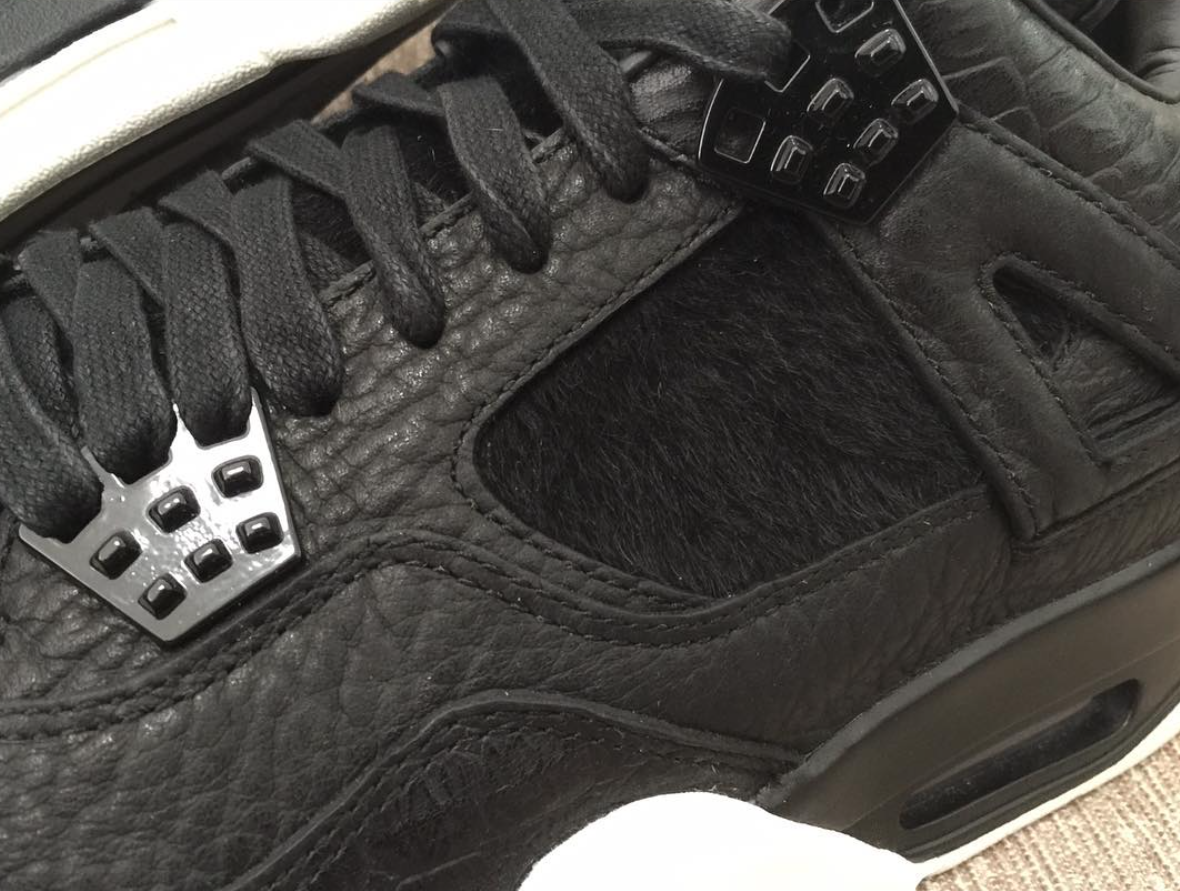 Air Jordan 4 Retro Premium Pinnacle Black