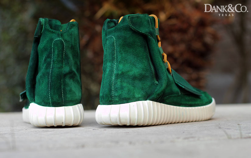 adidas Yeezy 750 Boost Green Moss Custom